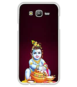 iFasho Lord Krishna stealing curd Back Case Cover for Samsung J5