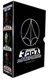 Macross, Super Dimensional Fortress Box Set 1 (eps 1-12) [Import]