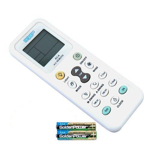 Hqrp t l commande de climatiseur pour fujitsu delonghi whirlpool daikin toshi - Telecommande climatiseur samsung ...