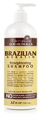 Renpure Originals 2000 Brazilian Keratin Straightening Shampoo, 32 Fluid Ounce
