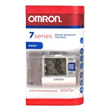 Omron Monitor, Blood Pressure, Wrist, 7 Series
