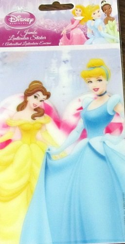 Disney Princess 1 Jumbo Lenticular Sticker