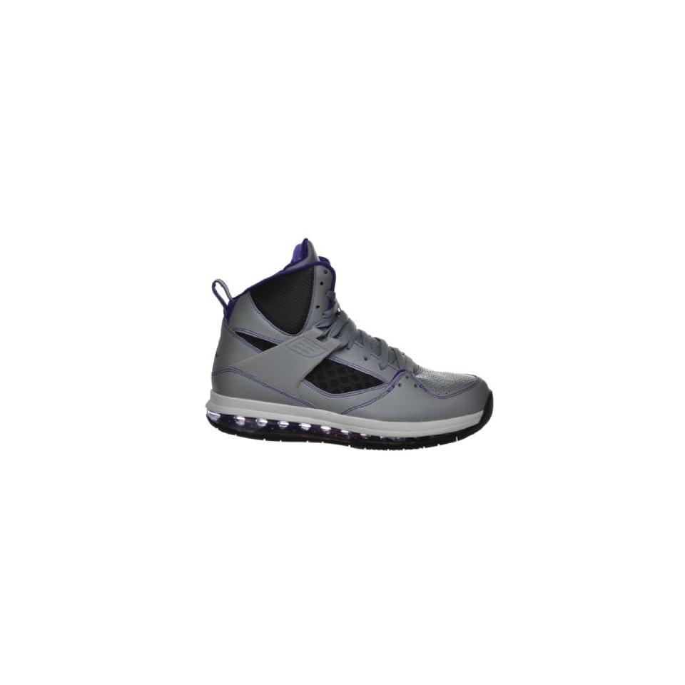 online store 8a62b d9507 Jordan Flight 45 High Max Mens Basketball Shoes Grey Purple Black White Grey  Black White 524866 008 11.5