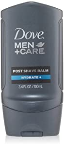 Dove Men+Care Hydrate + Post Shave Balm, 3.4 Ounce