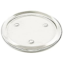 Flat Glass Candle Holder 6 Inch