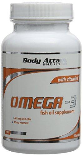 Omega-3 Kapseln, 1er Pack (1x 90 Kapseln) Dose