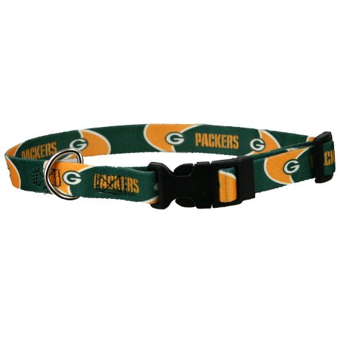 Hunter MFG Green Bay Packers Dog Collar, Large