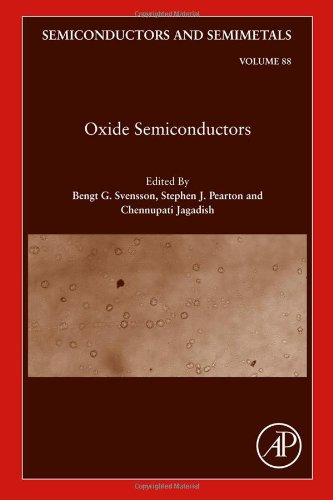 Oxide Semiconductors, Volume 88 (Semiconductors And Semimetals)