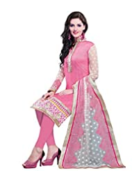 Nirali Women's Cotton Silk Salwar Kameez Unstitched Dress Material - Free Size