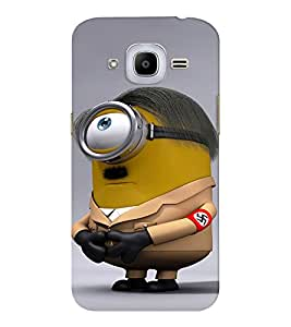 EPICCASE Hitler Minion Mobile Back Case Cover For Samsung J2 2016 (Designer Case)