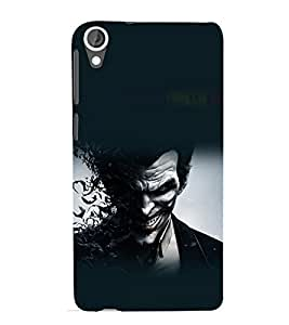 printtech Joker Bats Abstract Game Back Case Cover for HTC Desire 820G+ dual sim
