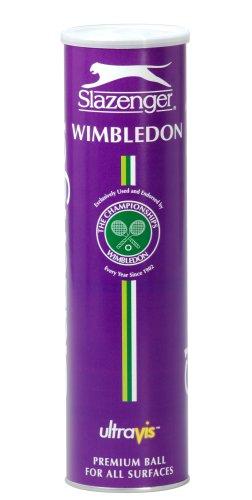 Slazenger Wimbledon Ultra VIS Tennis Ball - 4 Ball Tin