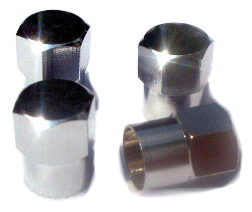 edelsign-4-tappi-per-valvola-per-auto-in-ottone-cromato