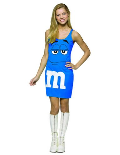 Halloween Costumes Item - M&Ms Blue Tank Dress 13-16