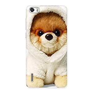 Gorgeous Boo Dog Multicolor Back Case Cover for Honor 6