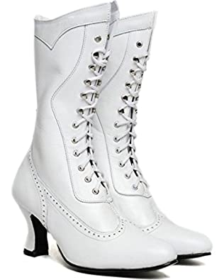 Oak Tree Farms Womens Vows Wedding Frontier Boot Pointed Toe $66.93 AT vintagedancer.com