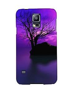 Mobifry Back case cover for Samsung Galaxy S5 SM-G900I Mobile (Printed design)