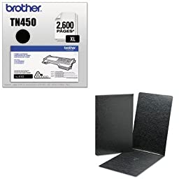 KITBRTTN450SMD81179 - Value Kit - Smead Top Opening Pressboard Report Cover (SMD81179) and Brother TN450 TN-450 High-Yield Toner (BRTTN450)