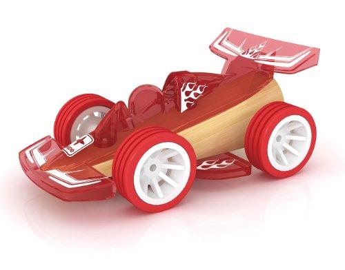 Hape Bamboo Mini Racer