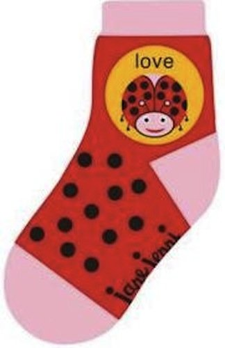 Love Bug Toddler Socks by Jane Jenni