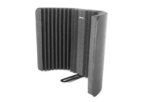 Auralex Mudguard Vocal Isolator Sound Dampening Foam, Charcoal front-180797