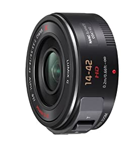 Panasonic H-PS14042E-K Lumix G X VARIO 14-42mm F3.5-5.6 ASPH Lightweight Standard Zoom Lens