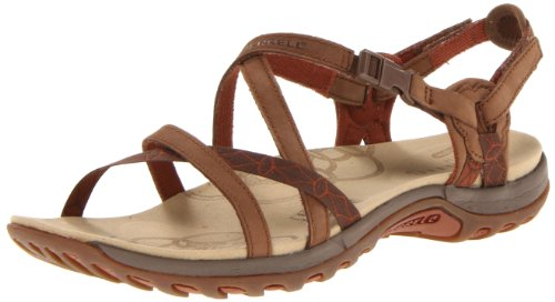Merrell Women's Jacardia Sandal,Dark Earth,7 M US