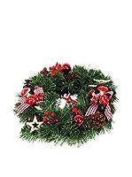 Decoracion Navideña Corona de Adviento Navidad Puerta