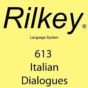 Rilkey 613 Italian Dialogues Audiobook