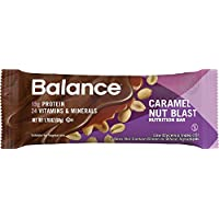 Balance Bar Caramel Nut Blast 1.76 ounce bars 6 count
