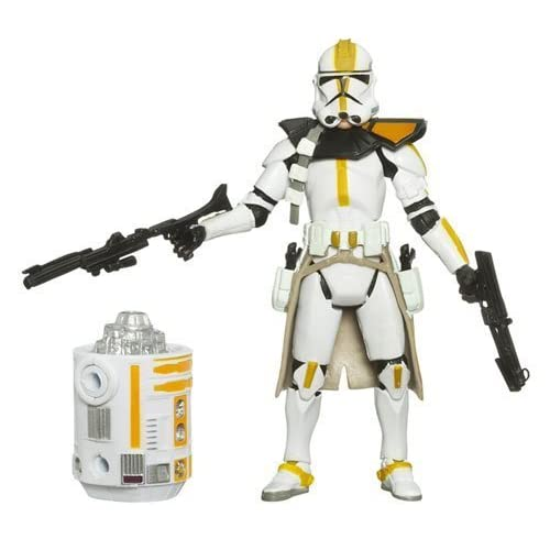 Star Wars Clone Wars Legacy Collection Build-A-Droid Factory Action Figure BD No. 29 327th Star Corps Clone Trooper by Hasbro (English Manual)
