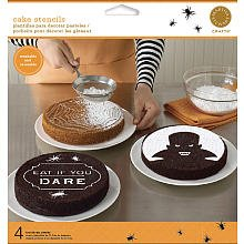 Martha Stewart Crafts Halloween Vampire Cake Stencils