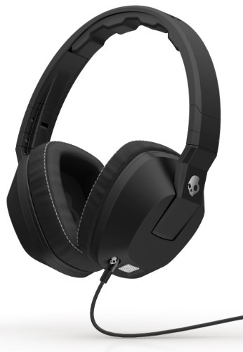 Skullcandy Crusher Over-Ear Headphones With Built-In Amplifier & Mic - Black