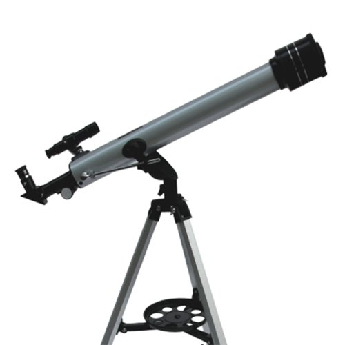 Gsi Super Quality Land And Sky 60Mm Refractor Telescope With Aluminum Tripod - High Power Magnification - Optical Glass Lens, Metal Body, Nd Moon Filter - Includes 3 Eyepieces, For Terrestrial And Astronomical Use