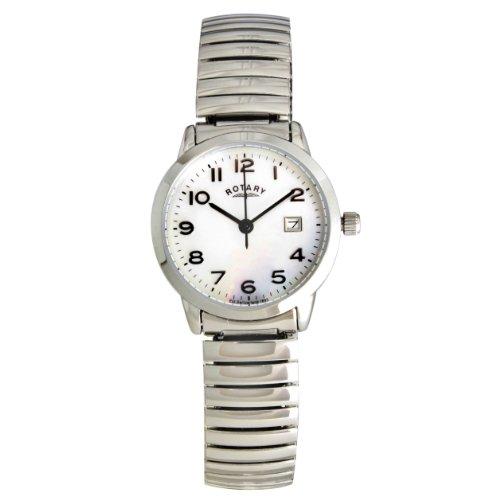 Rotary Ladies Steel Expander Bracelet Watch LB30015/41
