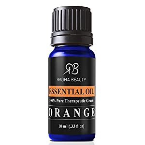 Aromatherapy Top 6 Essential Oils 100% Pure & Therapeutic grade - Basic Sampler Gift Set & Premium Kit - 6/10 Ml (Lavender, Tea Tree, Eucalyptus, Lemongrass, Orange, Peppermint)