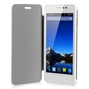 """Cubot - P6 Blanc Téléphone Portable 3G/2G Débloqué écran 5.0"""" MTK6572W Dual Core Smartphone Dual SIM GPS WiFi"""