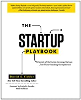 The Startup Playbook Front Cover
