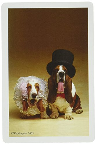Bride-And-Groom-Hounds-Playing-Cards