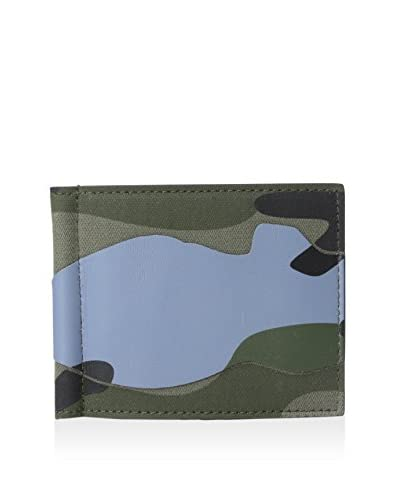 Valentino Men's Billfold Wallet, Multicolor Camouflage