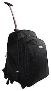 New High Quality Large Wheeled Backpack Rucksack Work Flight Bag Hand Luggage
