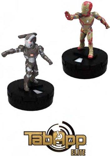 The Invincible Iron Man 2-Pack IronMan & War Machine - Tab App Elite