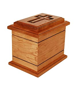 Star Legacy Inspiration Solid Urn, Cherry Wood