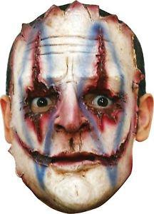 Serial Killer 04 Latex Face (Horror Flesh Grey Makeup)