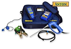 Anton Sprint eVo 2 flue gas analyser kit 2 with printer & gas leak detector by Anton Industrial Services