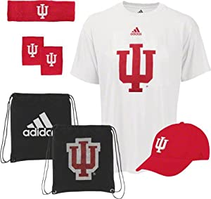 Buy Indiana Hoosiers adidas Pick-Up Game 5-PC Combo Pack by adidas