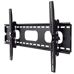 液晶テレビ壁掛け金具 37-65インチ対応 上下角度調節 ブラック PLB-ACE-117MB 【中型テレビ壁掛け】