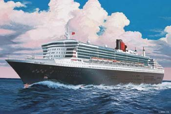 Revell 1:700 Queen Mary 2