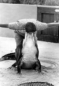 (13x19) Alligator Wrestler Archival Photo Poster