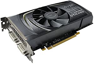 EVGA GeForce GTX 460 SuperClocked, 1024MB GDDR5, PCI-E 2.0, Dual DVI, miniHDMI, SLI Ready Graphics Card (01G-P3-1363-KR)